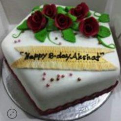 Designer Fondant cake