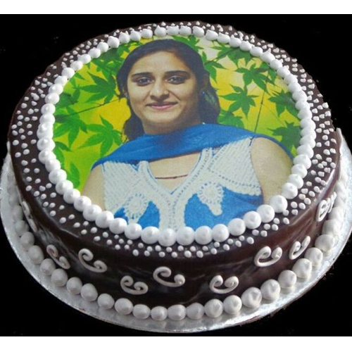 Birthday Cake With Picture.Birthday Cake For Mom