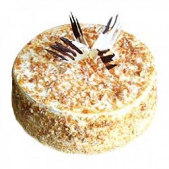 Eggless Butterscotch Cake