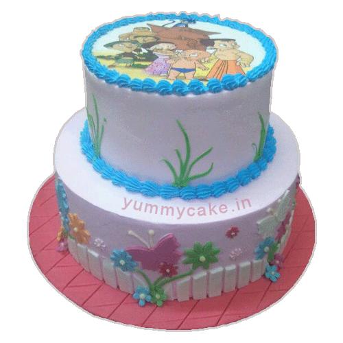Chota Bheem Birthday Cake