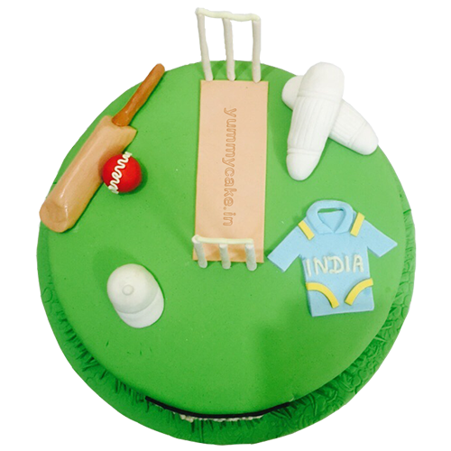 Designer Cricket Cake
