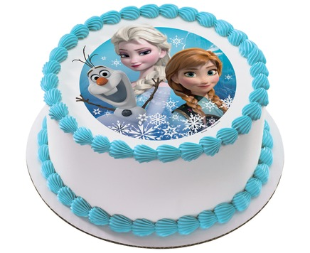 Fantastic Order For Frozen Birthday Cake From Yummycake Birthday Cards Printable Trancafe Filternl