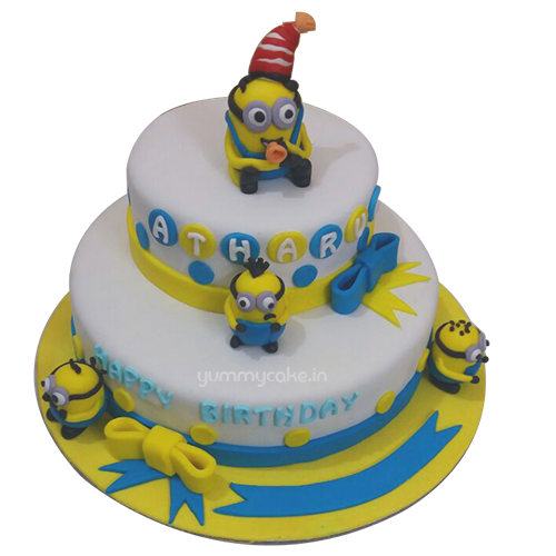 Birthday Minion Cake