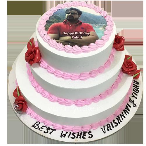 Photo Birthday Cake