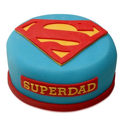Yummy Super Dad Cake