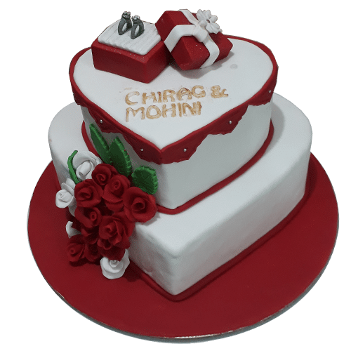 Engagement Cakes Online