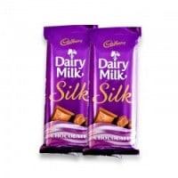 2 Cadbury Silk Chocolates 60gms