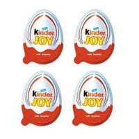 Kinder Joy Chocolates for Boys 4 Pieces