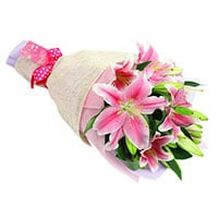 6 Lilies Bunch